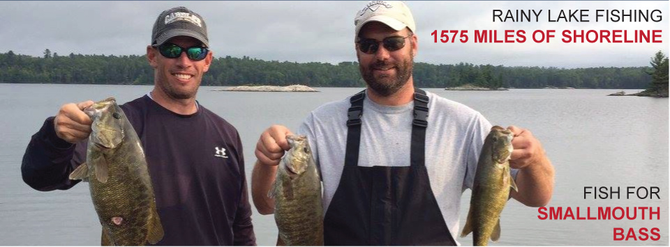 Bass Fishing on Rainy Lake